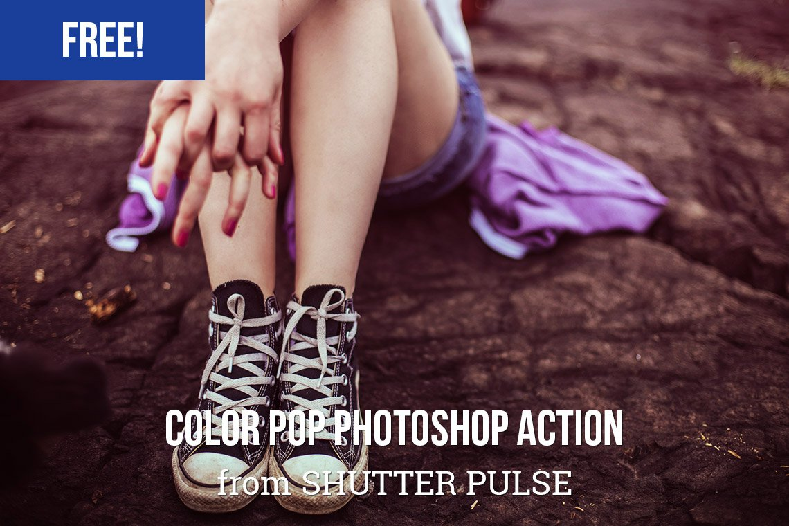Color Pop: Free Photoshop Action to Amplify Color