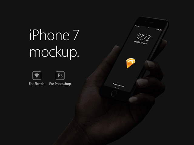 iPhone 7 & 7 Plus: Early free mockup collection