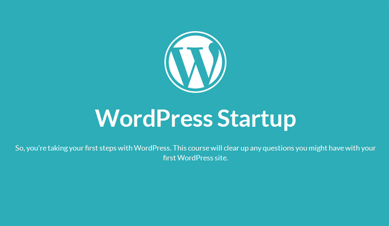 WordPress Startup tutorial